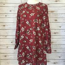 Addison Floral Red Dress Photo