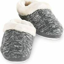 Addison Meadow Slippers for Women - Womens Slippers Fur-Trimmed Scuff Photo