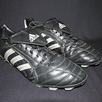 Adidas 2007 Black Silver Leather Soccer Cleats Us 11 Photo