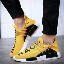 Adidas 2016 Pharrell Williams Hot Running Shoes Nmd Human Race Men Run Sneakers Photo