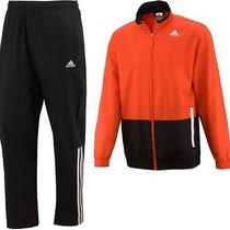 Adidas 3 Stripes Woven  Mens Training Tracksuit Size S (34/36) Photo
