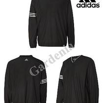 Adidas - A147- Climaproof Colorblock v-Neck Windshirt  Photo