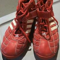 Adidas A3 Clutch Basketball Shoes   Size 15  Red/white Rare  Very Nice Photo