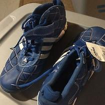 Adidas A3 Clutch Old School Basketball Shoes  Size 15 Royal Blue/white  Nwt Photo