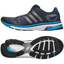 Adidas Adistar Boost Mens Running Shoes Us 12.5 Onyx/blue F32289 Photo
