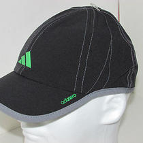 Adidas Adizero Unisex Stretch Cap Hat Tennis Running Baseball L Xl Black Photo