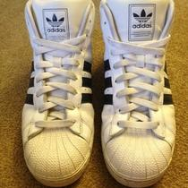 Adidas All Stars High Top Pro Model Size 9.5 Men Photo