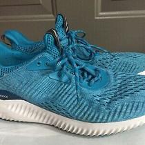 Adidas Alpha Bounce Bw1920 Tennis Shoe Size 9.5 Light Blue Excellent No Insoles Photo