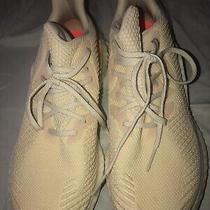 Adidas Alphaboost Size 10 Mens Womens 11 Unisex Ecru Tint Running Shoes Photo