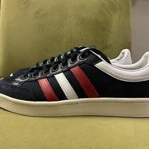 Adidas Americana Low Top Mens Casual Shoes Blue White Red Ef2511 Size 10 New Photo