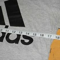 Adidas Amplifier Gray T-Shirt Size Adult Small Free Us Shipping Photo