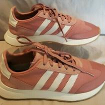 Adidas Apc 011001 Sz 8 Pink/white Cross Trainers Running Shoe Clean & Sanitized  Photo