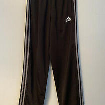 Adidas Athletic Running Pants Black and Gray Size Small Photo