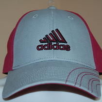 Adidas Barrage Cap Wine/gray One Size Fit All Unisex 5125174 Nwt Photo