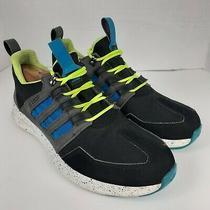 Adidas Black/blue Bsl Loop Runner Tr Running Athletic Shoes Sneakers Sz 9 Mens Photo
