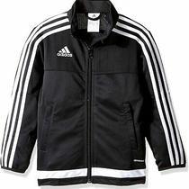 Adidas Black Size Small S Full-Zip Soccer Tiro 15 Training Jacket 40 203 Photo