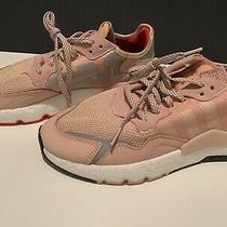 Adidas Blush Pink Womens Running Shoes Scotchlite Night Jogger. Reflective Photo