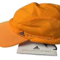 Adidas by Stella Mccartney Women's Running Hat Run Cap Orange One Size/adj. Nwt Photo