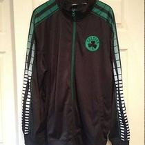 Adidas Celtic Sweatshirt 2xl Black and Green With Clover  Photo