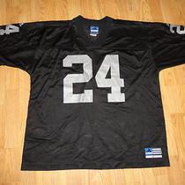 Adidas Charles Woodson 24 Oakland Raiders Nfl Football Jersey Xl Photo