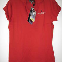 Adidas Climacool Women's Athletic Golf Polo Top Waikoloa Village Golf Club Small Photo