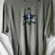 Adidas Climalite All Star Basketball Game Dallas 2010 Mens Size L Tshirt  Photo