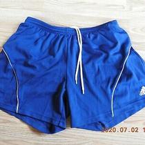 Adidas Climalite Women's 100%Polyester Navy Sport Shorts Size L Photo