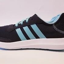 Adidas Cloudfoam Element Refresh Athletic Women's Running Black/turquoi Size 8.5 Photo