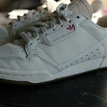 Adidas Continental 80 Off White/cream Leather Sneakers Yeezy Sz 6bd7975 Photo