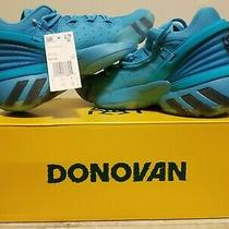 Adidas d.o.n Issue 2 Basketball Shoes Sneakers Crayola Blue Fw8752 Size 7 Photo