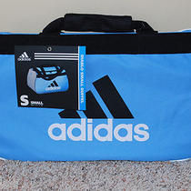 Adidas Diablo Small Black and Light Blue Duffel Photo