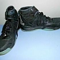 Adidas Dual Threat Black Men Basketball Sneakers Size 9 Photo
