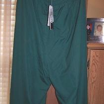 Adidas E76043 Climaproof Mens Big Game Bg Warm Up Pants Forest/white 4xl Nwt Photo
