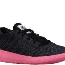 Adidas Element Refine Black Neon Pink Athletic Running Shoes Sz 9.5 Photo