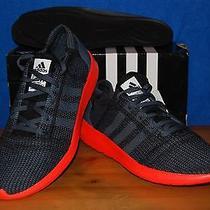 Adidas Element Refine Tricot Men's Running Shoes sz.10.5 Us Grey Nib Photo