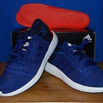 Adidas Element Refine Tricot Men's Running Shoes sz.9 Us Royal Nib Photo