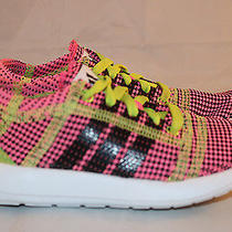 Adidas Element Refine Tricot Pink Multi-Color Running Shoes Size 11k  B41193 Photo