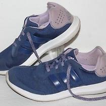 Adidas Element Refresh Running Shoes S76572 Navy/lavender Women's Us 8.5 Photo