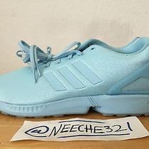 Adidas Flux Zx Size 14 Blush Blue Trainers Running Men's  Photo