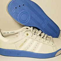 Adidas Forest Hills Originals Sneakers Men's 9 Blue Grey Ee5741 Athletic Running Photo