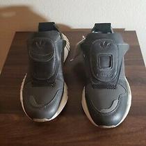Adidas Futurepacer Size 5 Nmd Boost Running Sneaker Grey White Black Aq0907 Photo