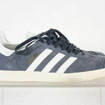 Adidas Gazelle Blue Suede Men's Striped Sneakers Size 8 Photo