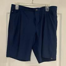 Adidas Golf Shorts Size 38 Blue  Photo