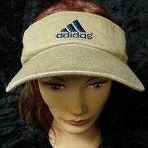 Adidas Golf Tennis Athletic Embroidered Visor  Hat  Photo