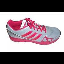 Adidas Grey/pinkhyperfast K Running/course Shoes M29044 - Girls    Size 4 Photo