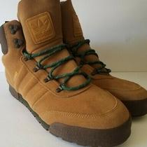 Adidas Jake Blauvent Boot 2.0 Ee6206 Leather Hiking Shoes Brown Green Size 12.5 Photo