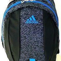 Adidas Journal Backpack Work School Travel Sport Unisex Bag Blue Black Nwt Photo