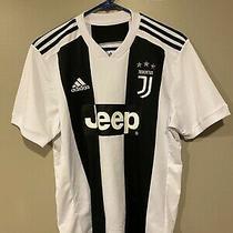 Adidas Juventus 18/19 Home Soccer Jersey Men's Size L Fc Kit Jeep Zebras Photo