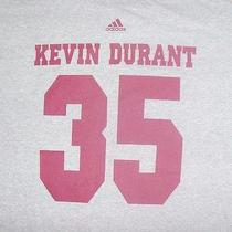 Adidas Kevin Durant 35 Basketball Grey Logo Slogan T Shirt Sz Xl Photo