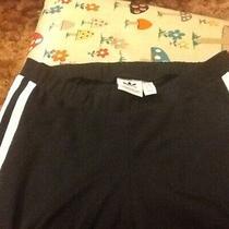 Adidas Ladies Black Training Bottoms Size 6 Photo